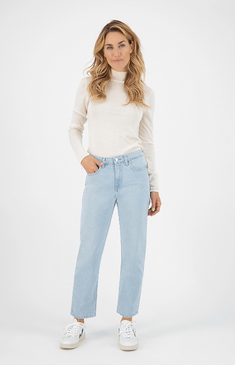 Jeans Cropped Mimi - Mud Jeans - Sun Stone