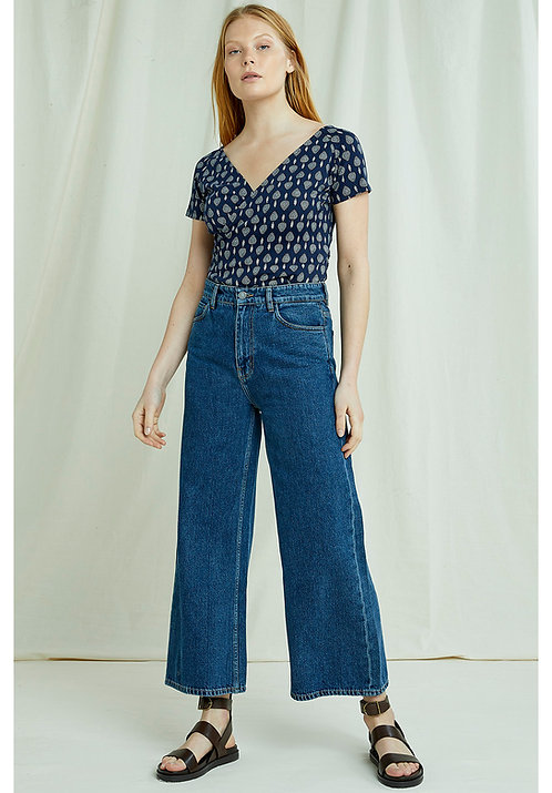 Jeans large - Peolpe tree - Bleu