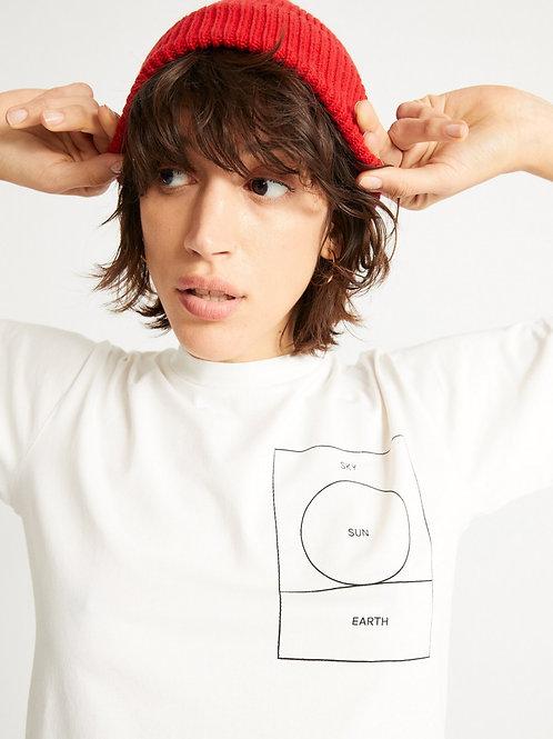 T-shirt - Thinking Mu - Blanc