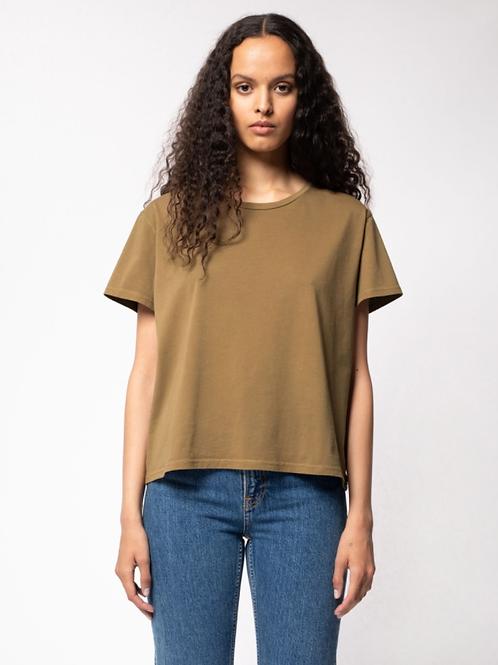 T-shirt - Nudie Jeans - Noir/Blanc/Kaki/Marron