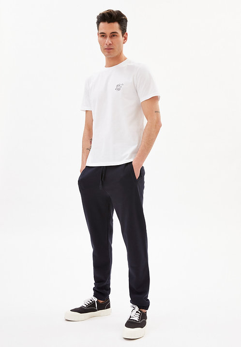 T-shirt  - Armedangels - Blanc poisson