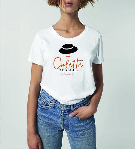 T-shirt - Jeanne à dit - Noir/Jaune