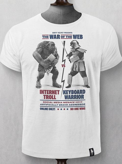 T-Shirt - Dirty Velvet - War of the Web