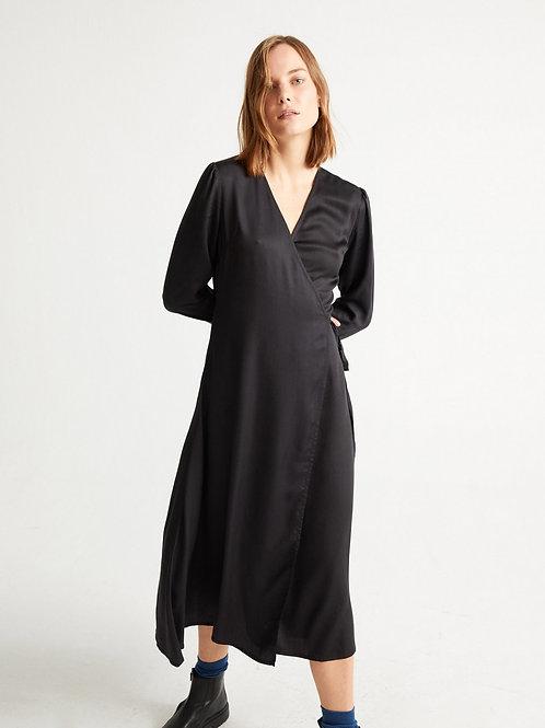 Robe Tencel- Thinking Mu - Noir