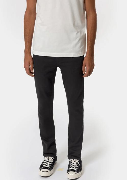 Jeans Grim Tim - Nudies Jeans - Dry ever black