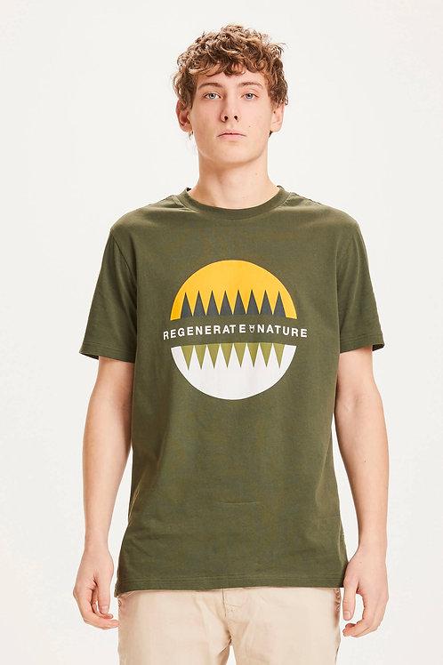 T-shirt - Knowledge - Kaki