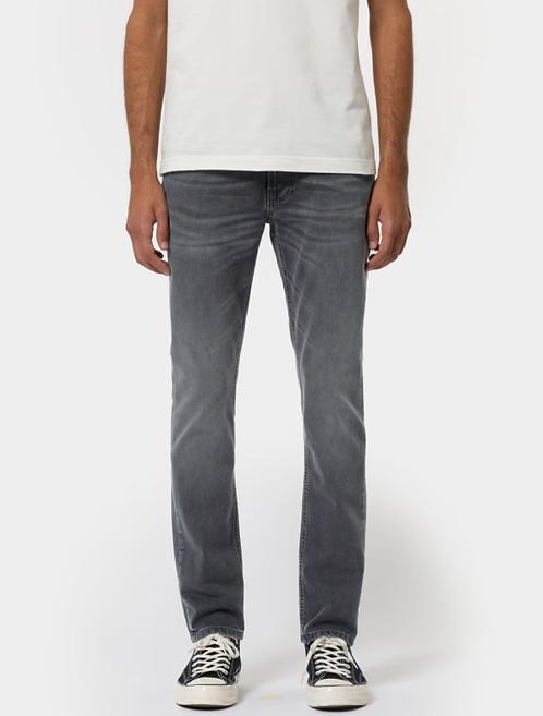 Jeans Lean Dean - Nudie Jeans - Mono Grey