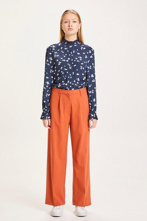 Pantalon - Knowledge - Orange/Marine/Beige