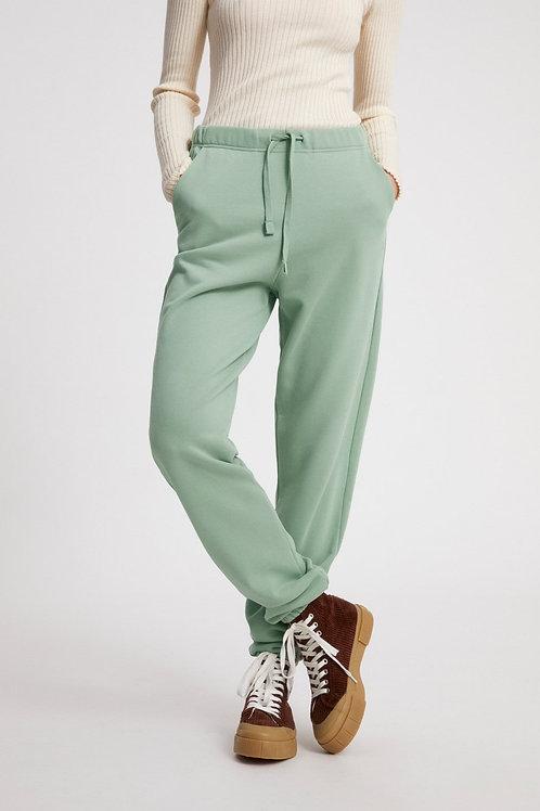 Pantalon Jogging - Armedangel - Vert/Crème