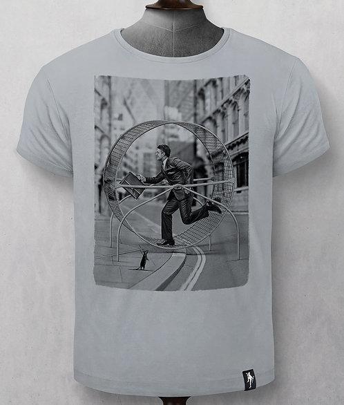 """T- shirt - Dirty Velvet - Gris """"Rat run"""""""