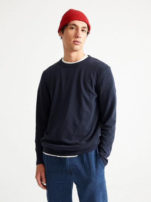 T-shirt chanvre - Thinking Mu - Marine/Olive