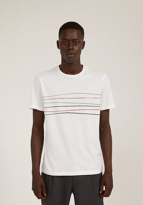 T-shirt  - Armedangels - Blanc