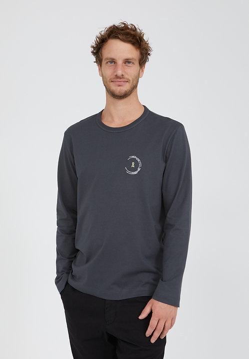 T-shirt - Armedangels - Gris anthracite