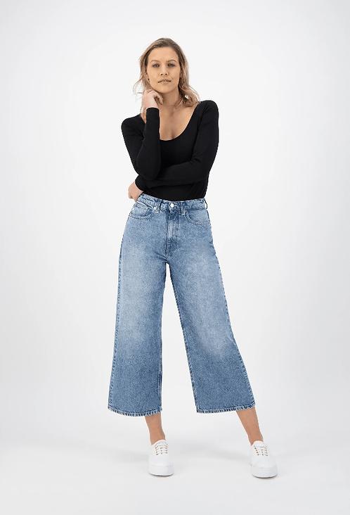Jeans large - Mud Jeans - Bleu