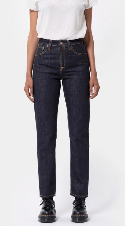 Jeans Mom - Nudie Jeans - Breezy Britt, Rinsed Original