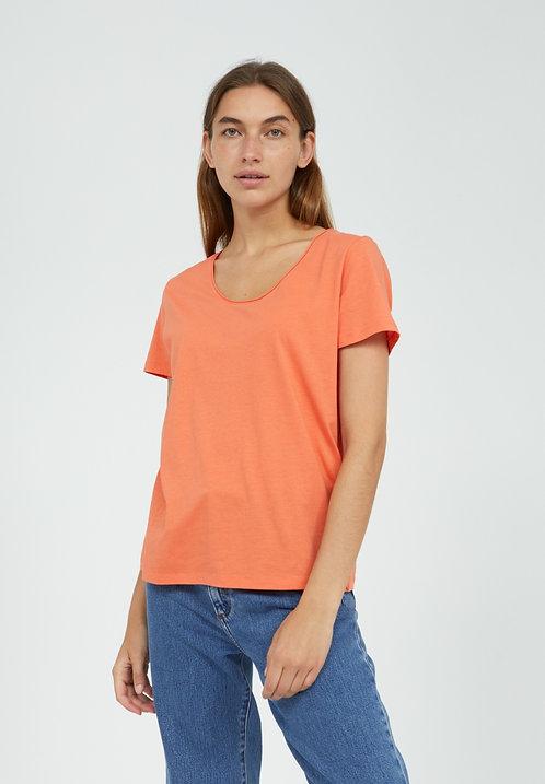 T-shirt - Armedangels - Orange