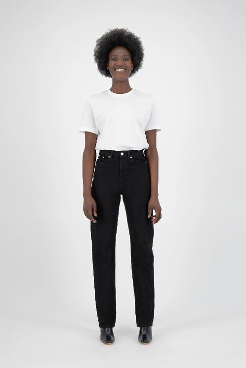 Jeans Relax Rose - Mud Jeans - Dip Black