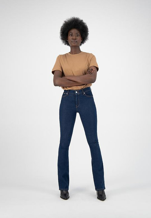 Jeans Flared Hazen- Mud Jeans - Strong Blue