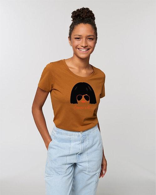T-shirt - Jeanne à dit - Caramel