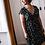 Thumbnail: Robe - Aatise - Noir Fleurs