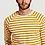 Thumbnail: T-shirt - Nudie Jeans - Rayures bleu, jaune, noir