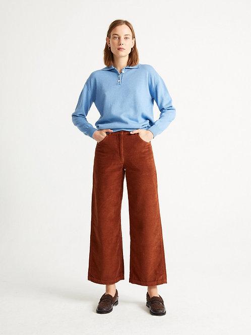 Pantalon - Thinking Mu - Rouge/Vert