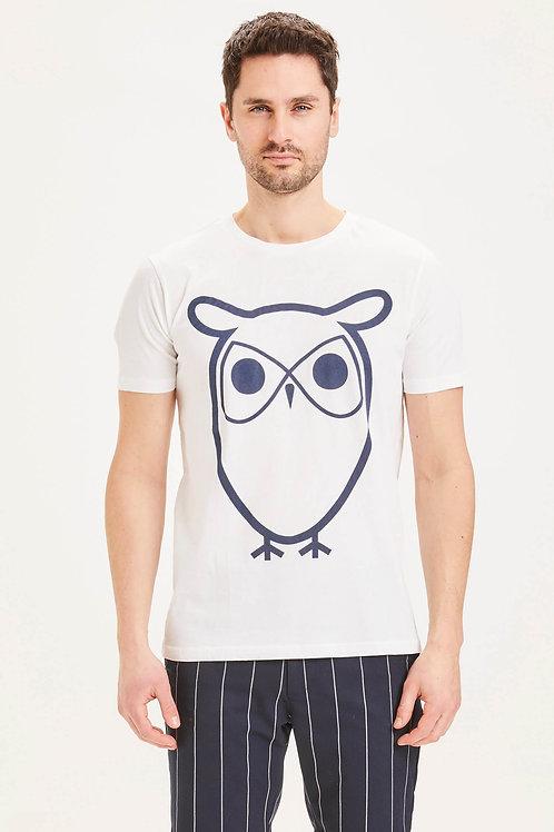 T-shirt - Knowledge - Blanc/Marine