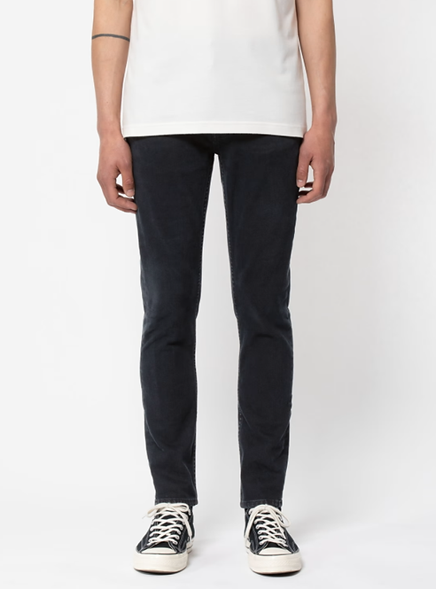 Jeans Lean Dean - Nudie Jeans - Black Skies