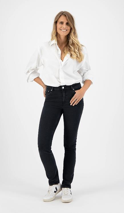 Jeans Regular Swan - Mud Jeans - Stone Black
