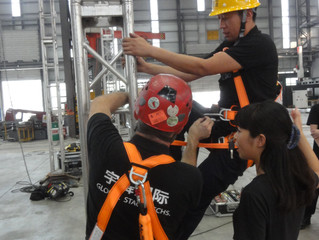 GST conducts Fall Protection Training for SCC!