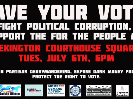 SAVE YOUR VOTE RALLY