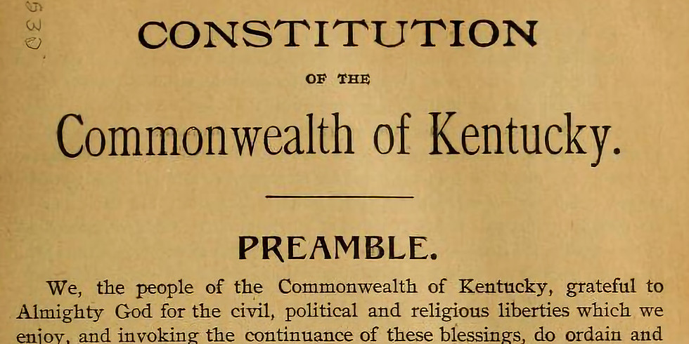 NAACP Forum: KY Constitutional Amendments and Voter Information