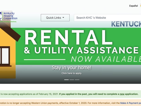 COVID-19 Rent and Utility Relief -- Apply Now!