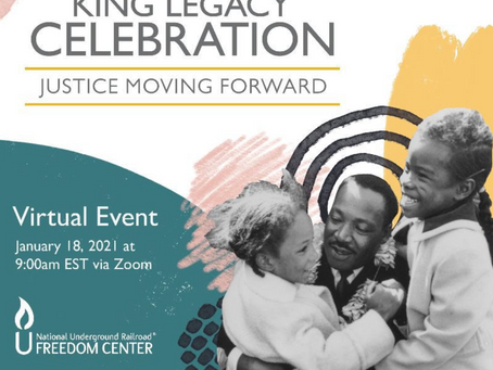 January Virtual Events Held By National Underground Railroad Freedom Center: