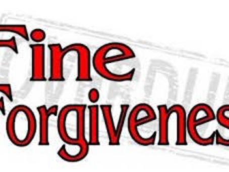 Fayette District Court Judges Announce Fine Payment Forgiveness Program