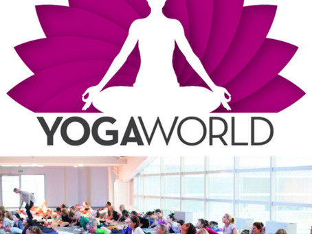 Yogaworld München 2021, im Januar