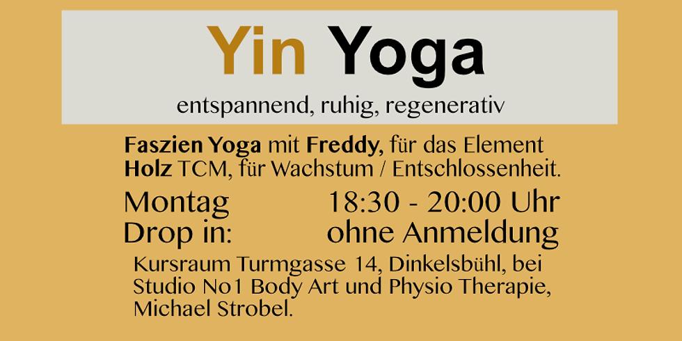 Yin Yoga, Element Holz / entspannend, ruhig, regenerativ