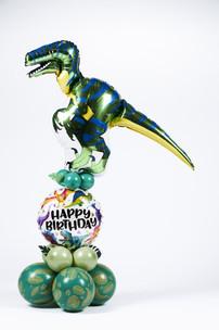 Dino ballon boeket
