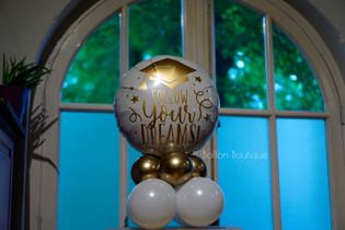 Follow your dreams - klein ballon boeket