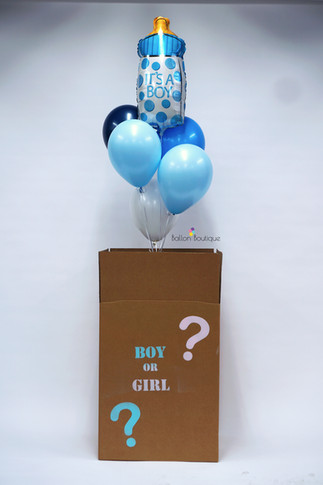 Gender reveal surprise box | Luxe