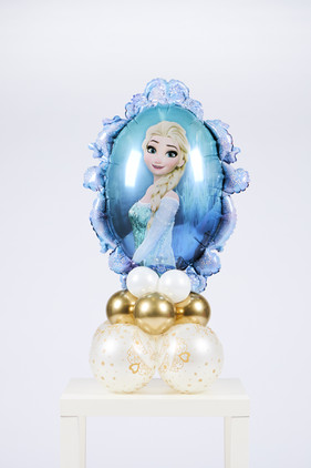 Frozen boeket (dubbel zijdig, Anna + Elsa)