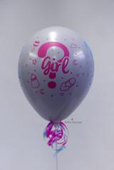 Gender reveal Partypopper