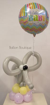 Ballon boeket - ballonfiguur medium