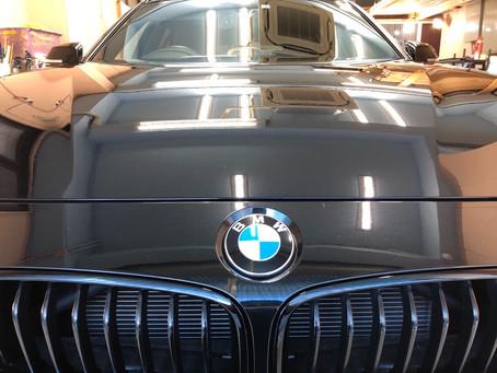 BMW3シリーズのボディコーティング施工