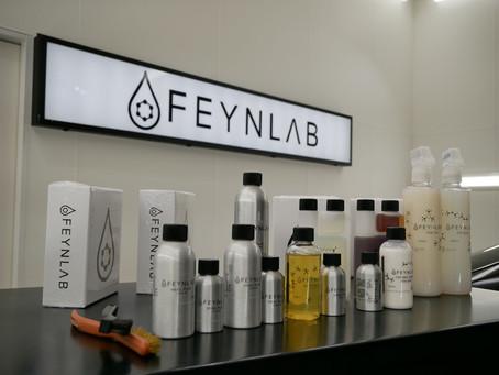 FEYNLAB自己修復機能付きヒールライトセラミックコーティングをボルボXC90へ施工致しました!