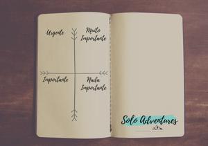 Técnica gestão de prioridades  - Joana Feliciano solo adventurer