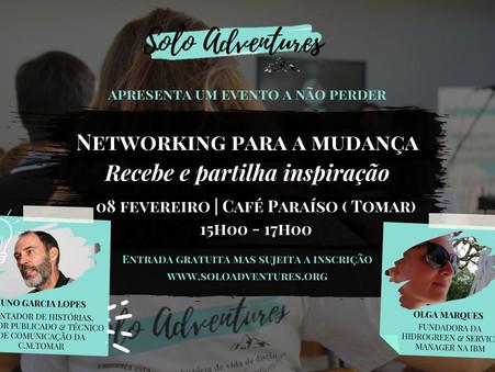 Convite | Networking para a Mudança