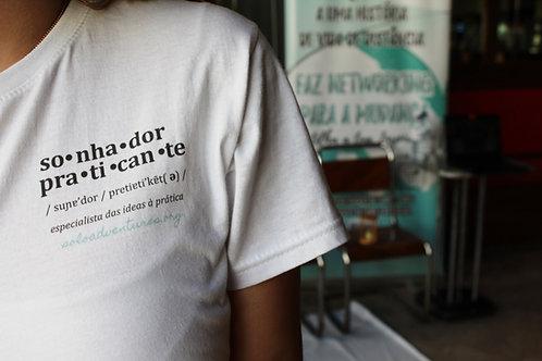 T-shirt Sonhador(a) Praticante