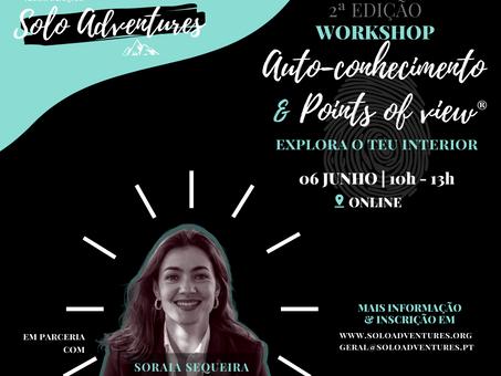 """Inscrições abertas   Workshop """"Auto-conhecimento & Points of You®"""""""