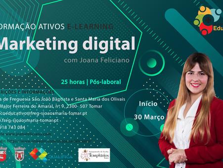 Procura formação em Marketing Digital?